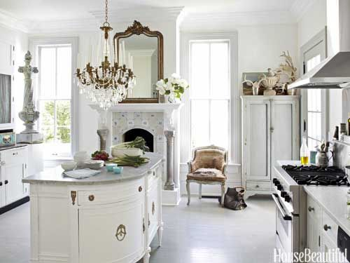 Ev dekorasyon hob frans z country mutfak dekorasyonu for Southern style kitchen ideas