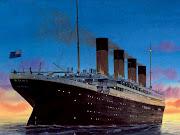 Homenaje al hundimiento del titanic .