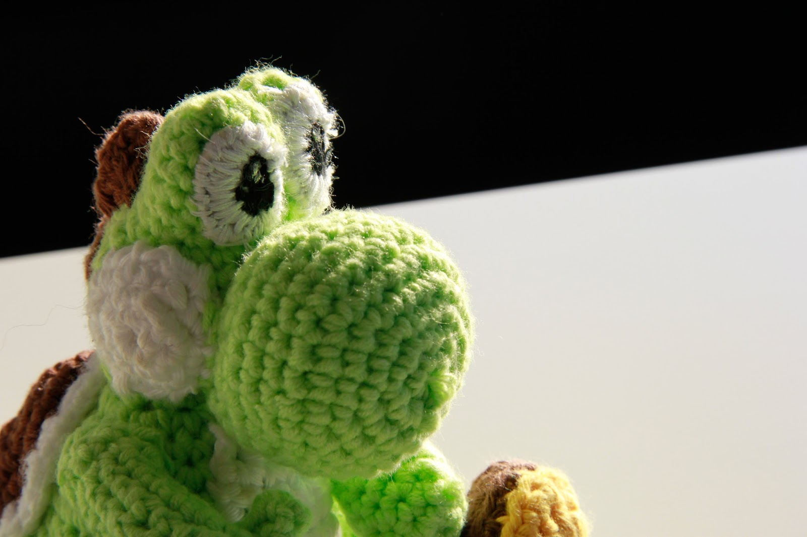 Crochet Pattern Free Amigurumi : Saroh?s do-it-yourself Blog: Free Yoshi Amigurumi Crochet ...
