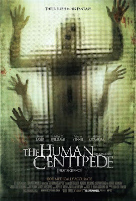 Watch The Human Centipede (First Sequence) 2010 BRRip Hollywood Movie Online | The Human Centipede (First Sequence) 2010 Hollywood Movie Poster