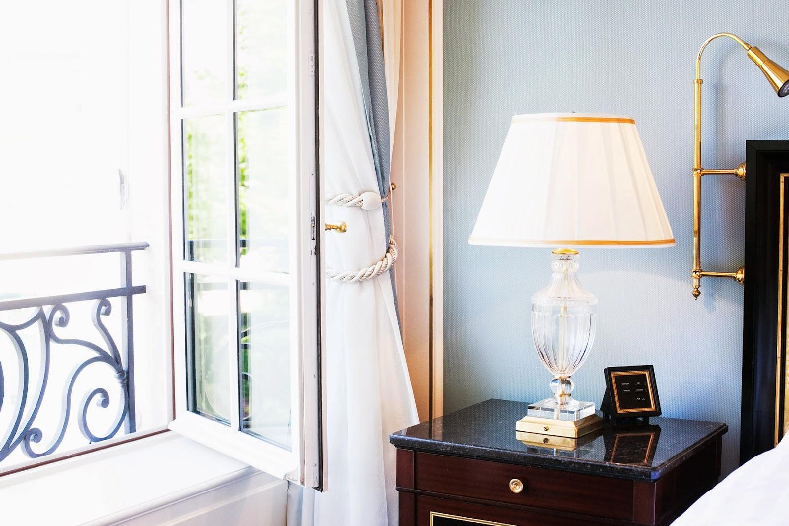paris apartment bedroom
