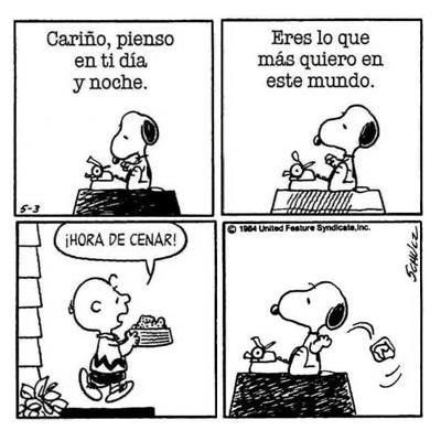 Snoopy y sus amigos historia personajes y curiosidades for Espejo y reflejo del caos al orden pdf