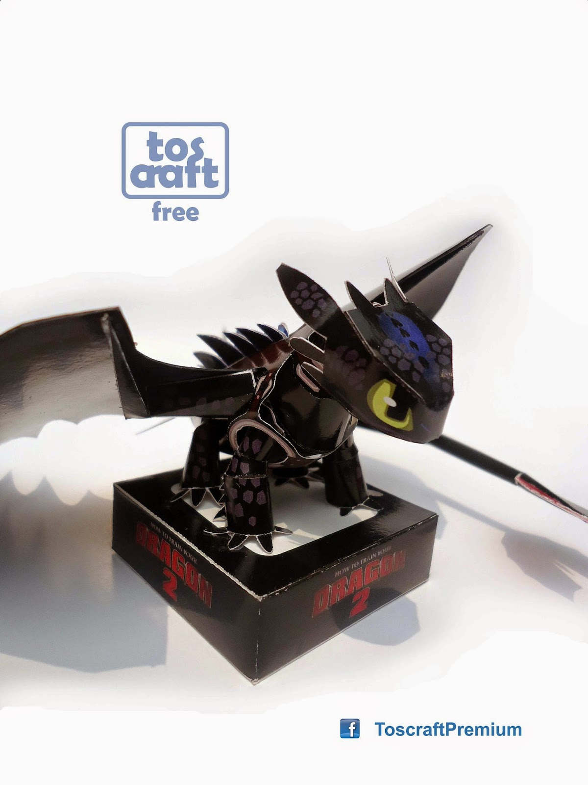 Toothless Papercraft