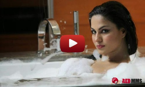Veena malik's hot bathroom photo shoot Exclusive