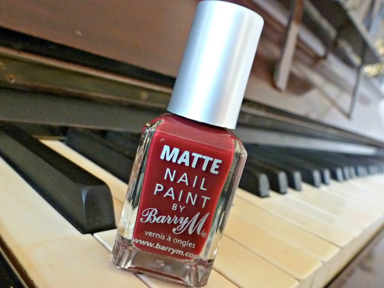A picture of Barry M Matte Nail Paint in Crush
