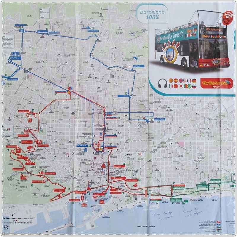 Gwing1313 Barcelona Bus Turistics Routes IN PICtures
