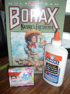 how to make gak with borax and glue