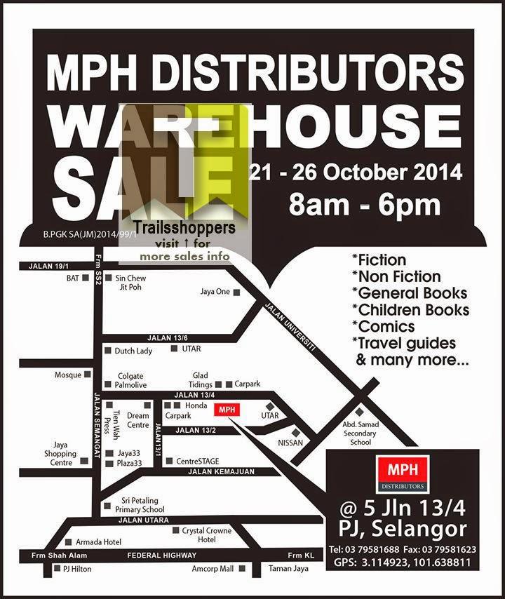MPH Distributors Warehouse Sale offer