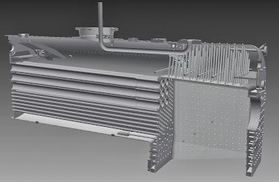 First Welded Steel Boiler For An NG/G16 Class Garratt!
