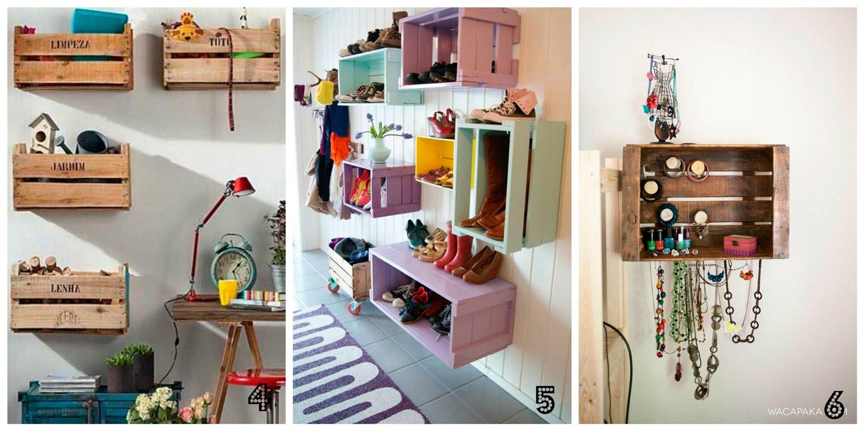 Hacer estanteria con cajas de madera