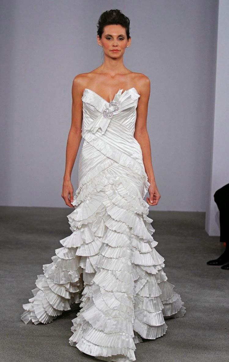Expensive Gorgeous White Wedding Dresses Photos HD Design Ideas