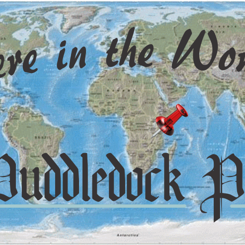 New Fun Feature: Where in the World is the Puddledock Press!