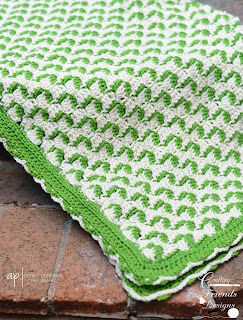 Ribbon Candy Afghan Crochet Pattern