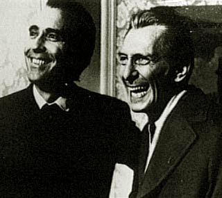 Christopher Lee e Peter Cushing, foto