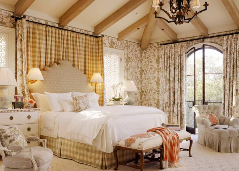 how to decorate country bedrooms with charm
