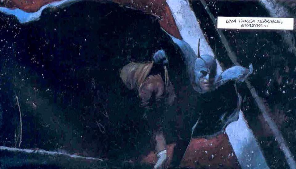 batman gritos en la noche comic ecc