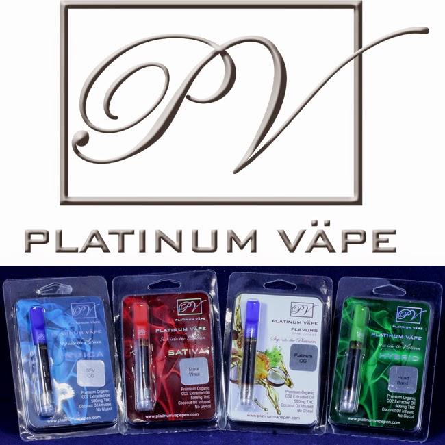 Vap CO2 oils Platinum Vape