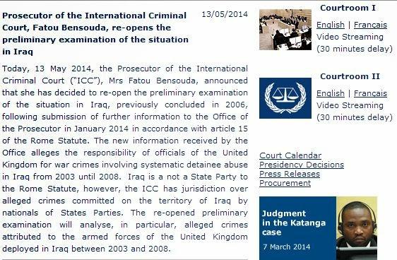 المحكمة الجنائية الدولية تعيد فتح ملفات العراق لإحالة جنود بريطانيين إلى القضاء