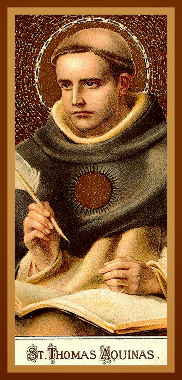 reaction saint thomas of aquinas