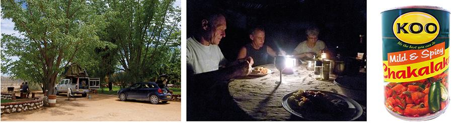 Ynas Reise Blog | Heiligabend auf dem Campingplatz  Chakalaka