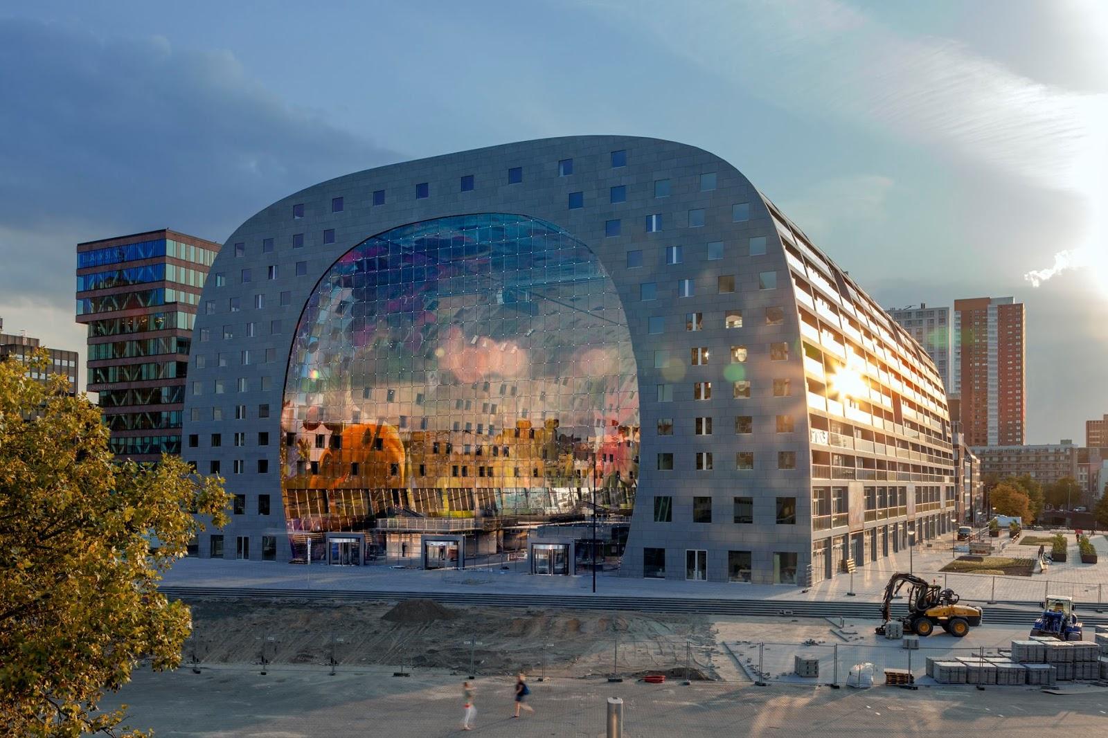 mvrdv market hall rotterdam - photo #12