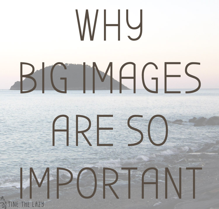 Why big images are so important