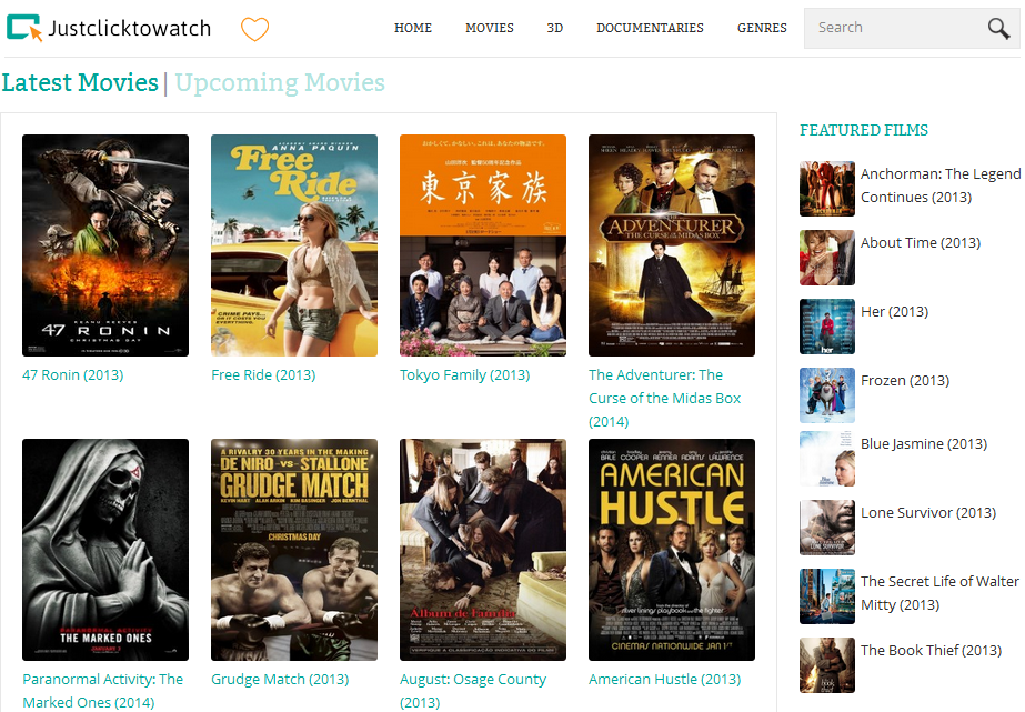30+ Best Websites to Watch Movies Online for free