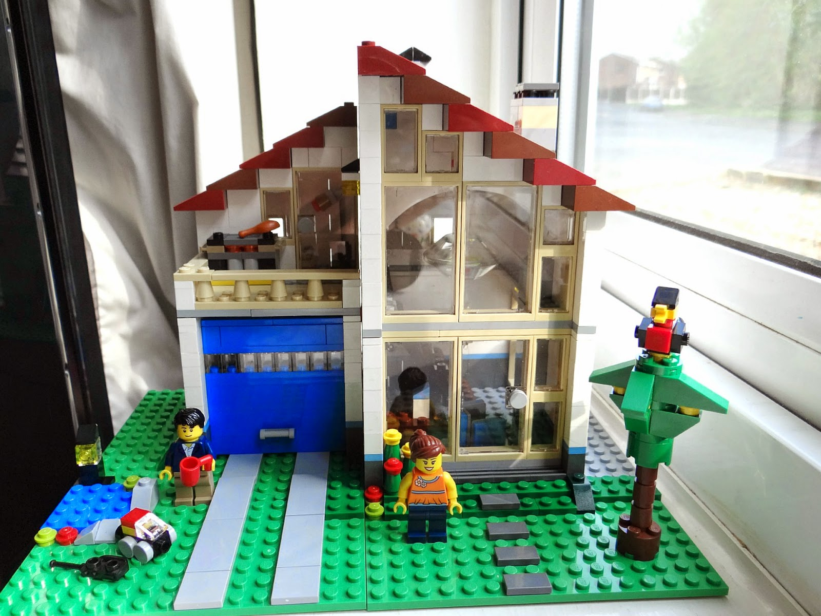 LEGO Creator Family House, LEGO Building, LEGO House Part 84