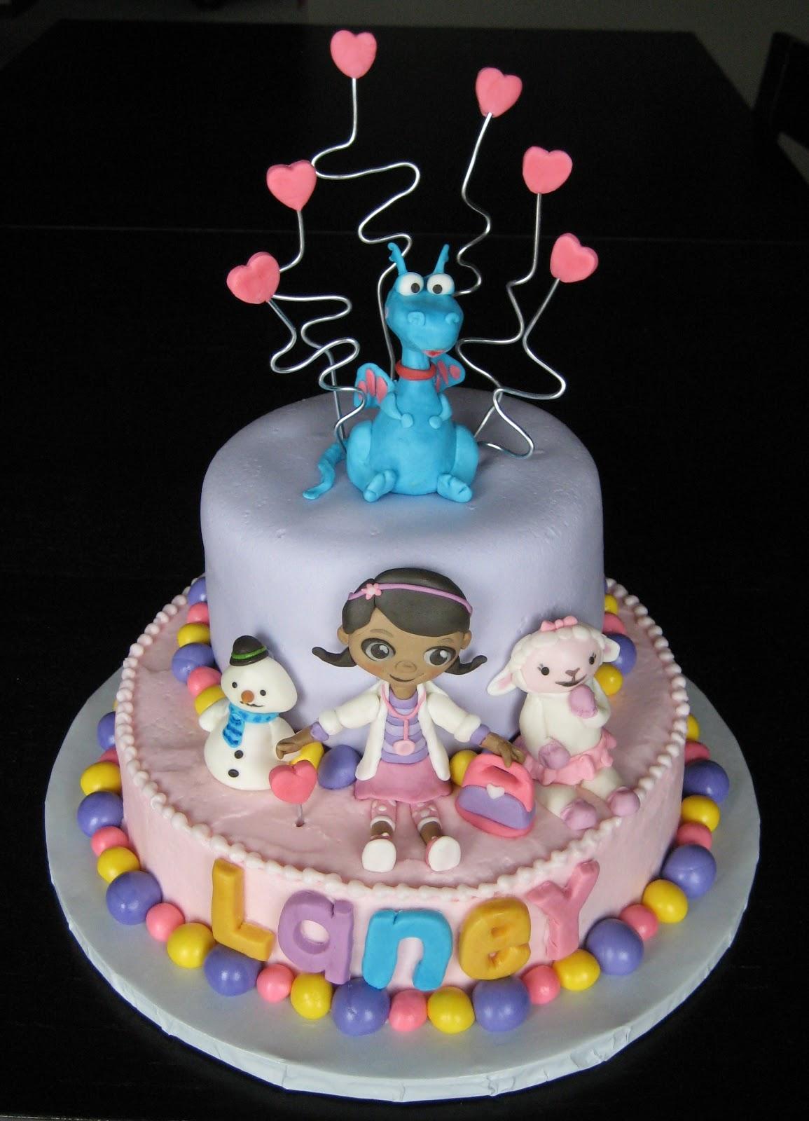 Custom Cakes by Julie: Doc McStuffins Cake II