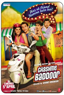Chashme Baddoor (2013) Hindi Movie Poster