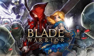 Screenshots of the Blade warrior for Android tablet, phone.