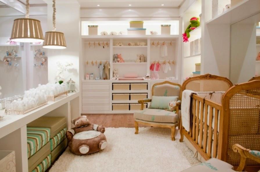50 Quartos de bebês decorados – meninos e meninas! Decor  ~ Valor Quarto Planejado Infantil