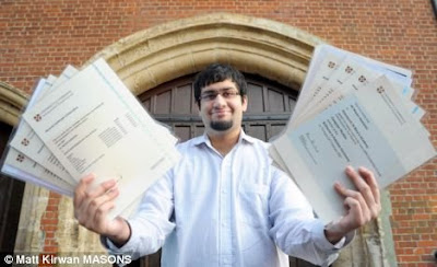Ali Moeem Nawazish | pakistani student made record in A level