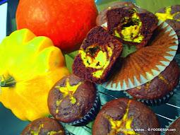 Chocolate Ricotta Squash MUFFINS