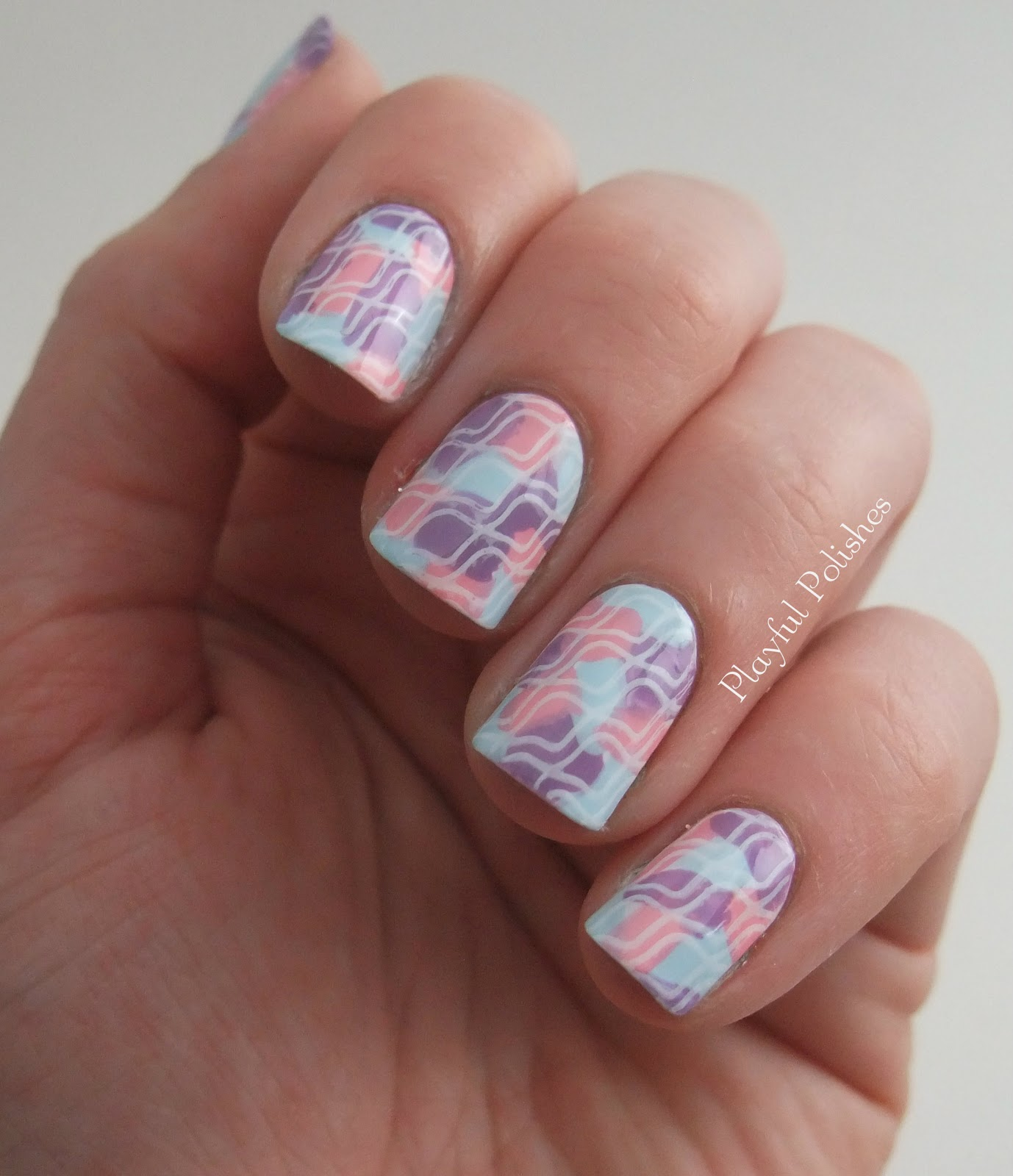 Playful Polishes January Nail Art Challenge Day 7