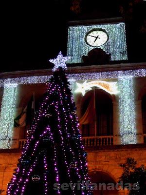 Ayuntamiento Navidad 2012 Sevilla