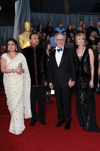 1 - Anil & Tina Ambani on the red carpet at the 84th Oscar ceremony