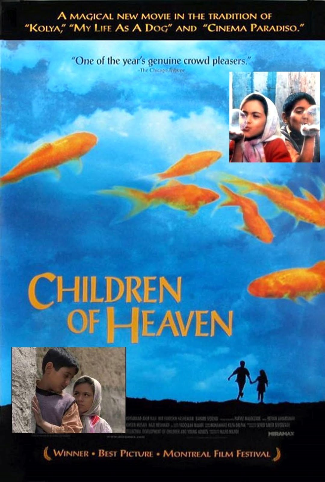 Children of Heaven Bacheha-Ye Aseman Poster