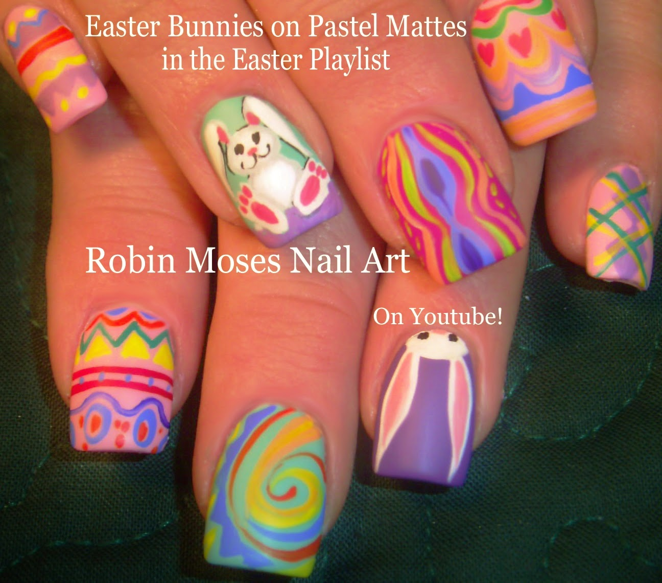 Nail Art by Robin Moses: Easter Nail art Design Tutorials for 2015 ...