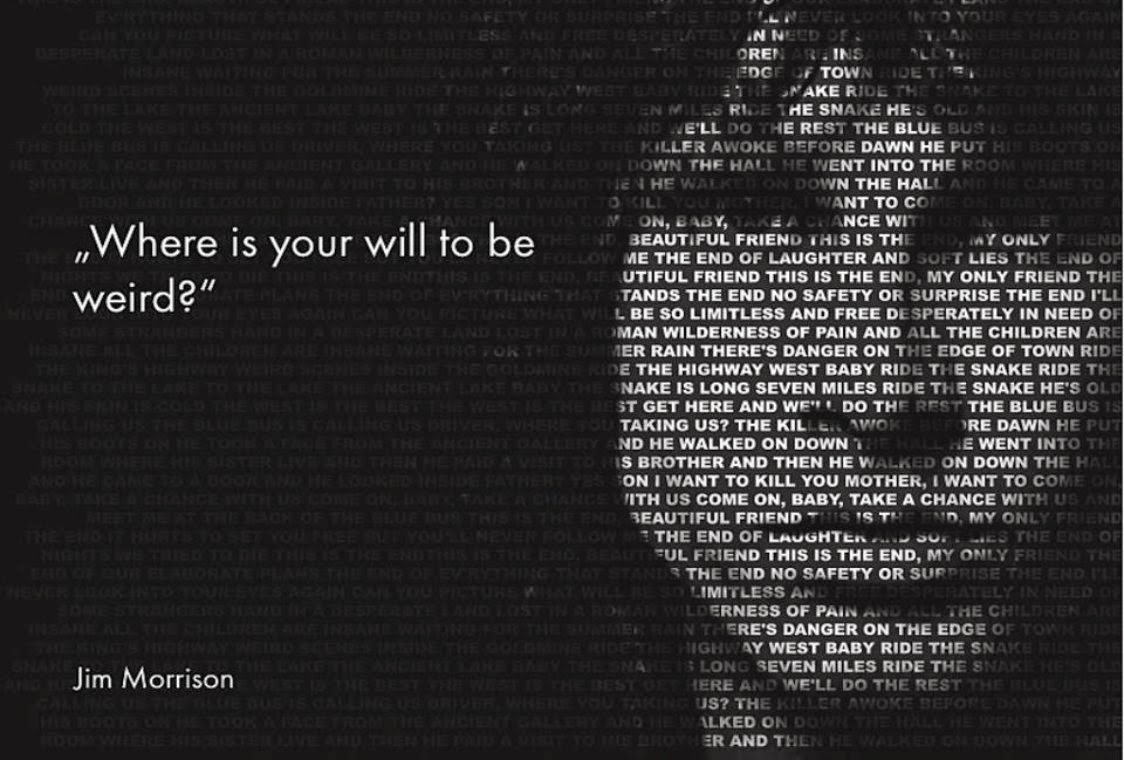 Images Of Jim Morrison Quote Wallpapers