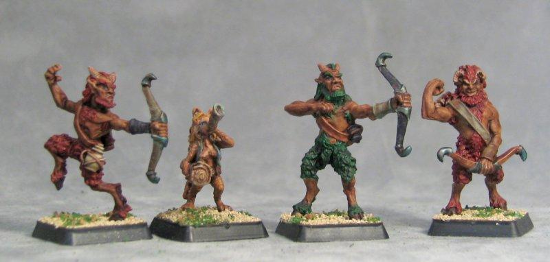 3 Satyr Archers and Catyr Musician