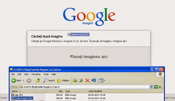 cautare imagini cu Google