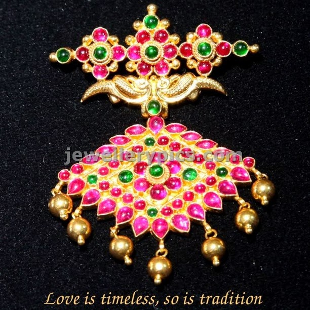 ruby traditional gold pendents gallery