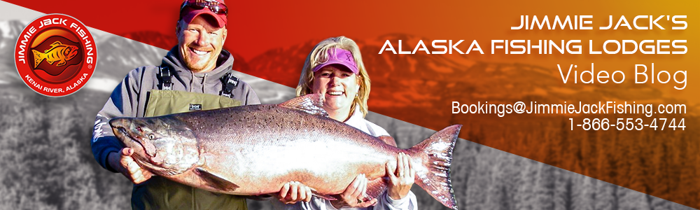 Jimmie Jack's Alaska Fishing Lodge Video Blog with Jimmie Jack Drath