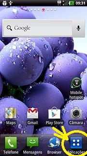 aplicações celular LG maximo true HD LTE(P936)