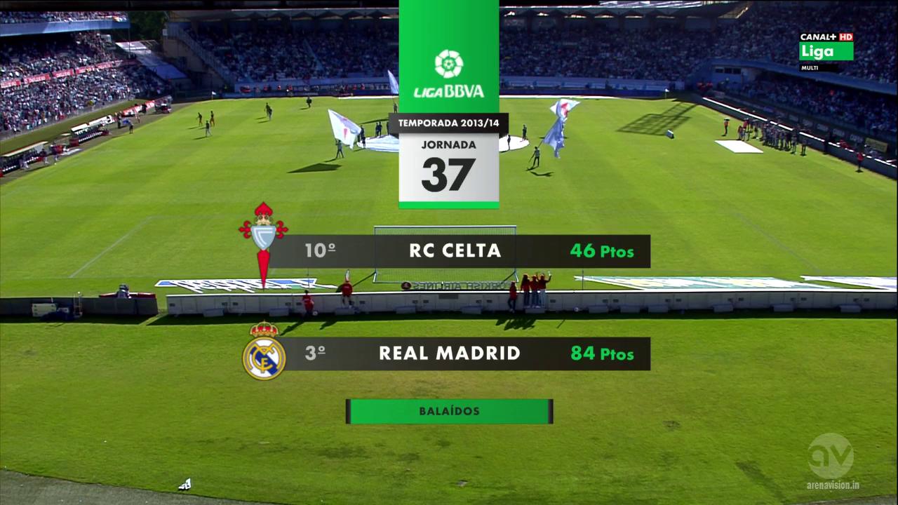 InfoMixta - Informacion al instante. CELTA VIGO VS REAL MADRID