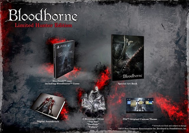 Bloodborne Limited Edition Hunter