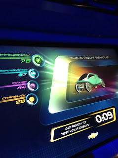 The car we designed at Test Track
