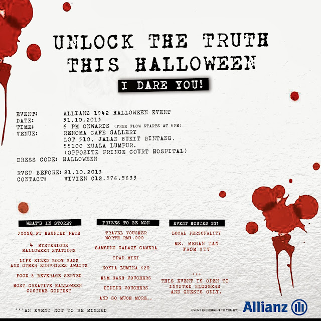 Unlock The Truth This Halloween @ Renoma Café Gallery , KL