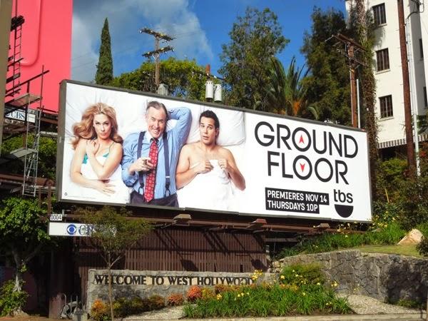 Ground Floor series premiere billboard